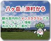 原村観光案内所のブログです